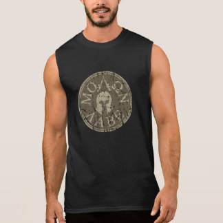 Molon Labe, Come and Take Them Sleeveless Tees