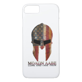 Molon Labe - Come and Take Them USA Spartan iPhone 7 Case
