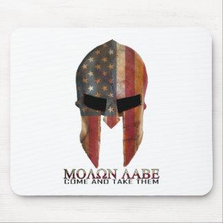 Molon Labe - Come and Take Them USA Spartan Mouse Pad