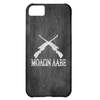Molon Labe Crossed Rifles 2nd Amendment Case For iPhone 5C
