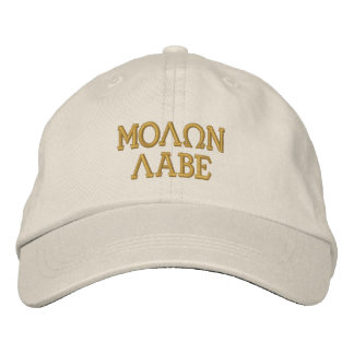 Molon Labe Embroidery Embroidered Hats