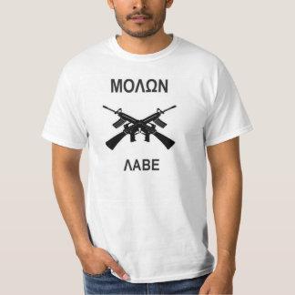 Molon Labe GUN RIGHTS PRO 2nd AMENDMENT T-Shirt