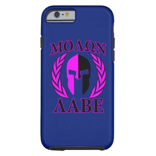 Molon Labe Spartan Helmet Laurels Tri-Colour Tough iPhone