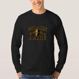 Molon Labe Spartan Warrior Helmet 5 stars Tee Shirt