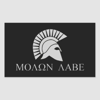 Molon Labe Sticker - Sheet of 4