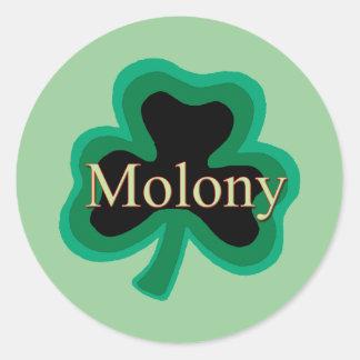 Molony Family Round Sticker