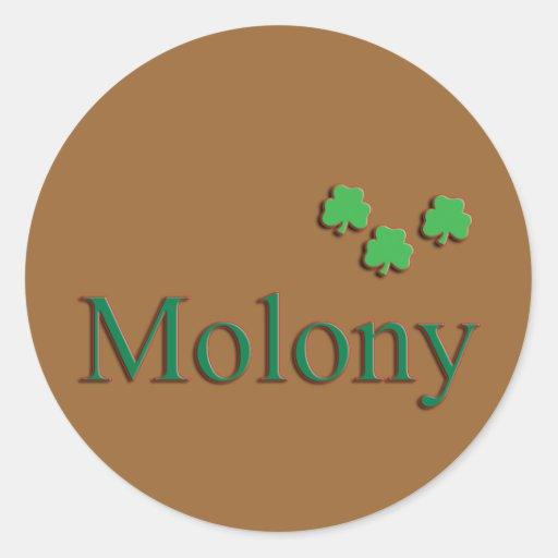 Molony Family Stickers