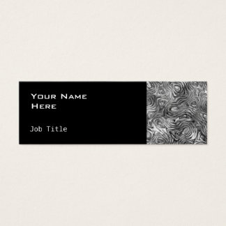 Molten business card side skinny black