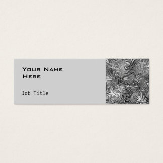 Molten business card side skinny grey