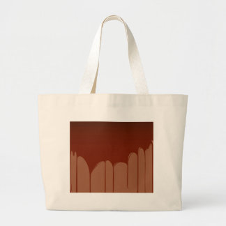Molten Chocolate Background Large Tote Bag