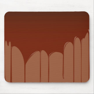 Molten Chocolate Background Mouse Mat