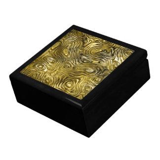 "Molten ""Gold"" print tile gift box large"