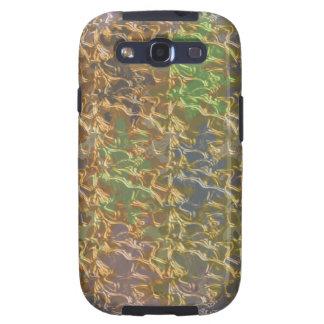 Molten Gold Strands in Rare Earth Color Collection Samsung Galaxy S3 Case