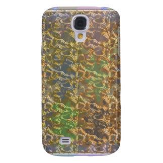 Molten Gold Strands in Rare Earth Color Collection Samsung Galaxy S4 Cover