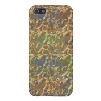 Molten Gold Strands in Rare Earth Color Collection Cases For iPhone 5