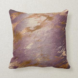 Molten Pin Faux Rose Gold Powder Vip Luxury Decor Cushion