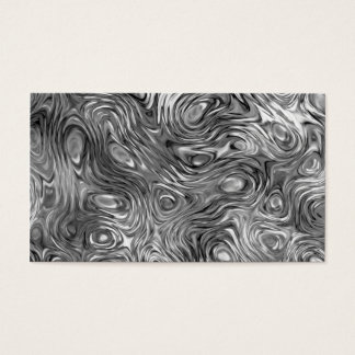 Molten print business card black