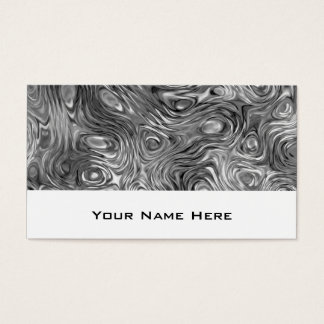 Molten print business card white