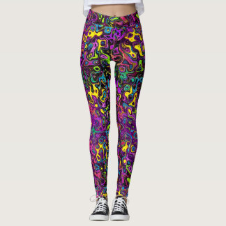 Molten Rainbow Chic Leggings