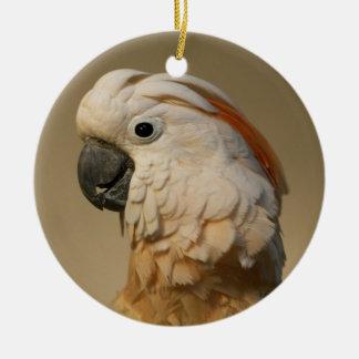 Moluccan Cockatoo Ornament