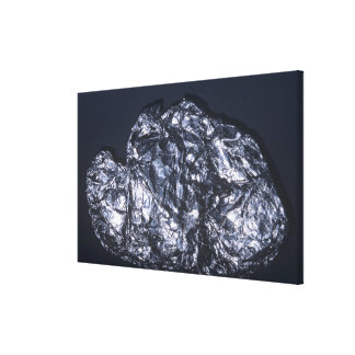 Molybdenite (MoS2), the main ore of Molybdenum Canvas Print