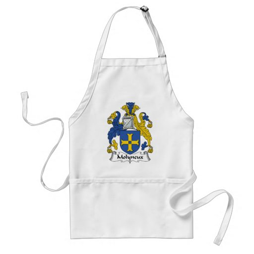 Molyneux Family Crest Aprons