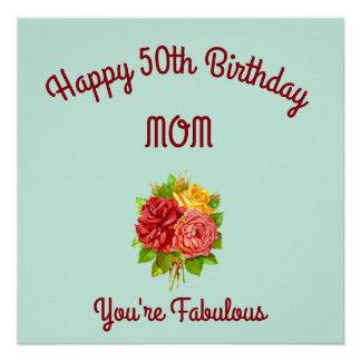 Mom 50th Birthday