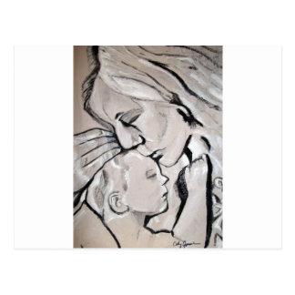 Mom and Baby cathy jourdan 2011 150 Postcard
