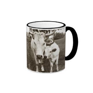 Mom and Baby Cow Mugs