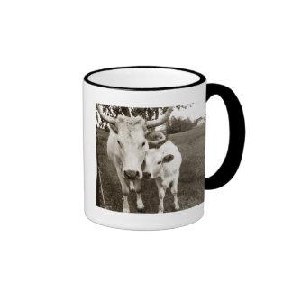 Mom and Baby Cow Coffee Mug