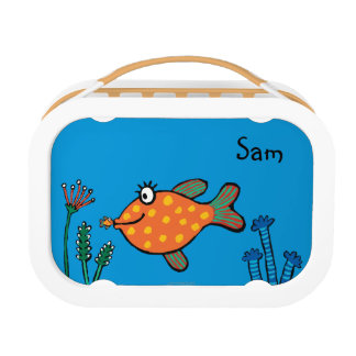 Mom and Baby Fish Kisses Lunch Box