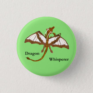 Mom and Child Dragons 3 Cm Round Badge