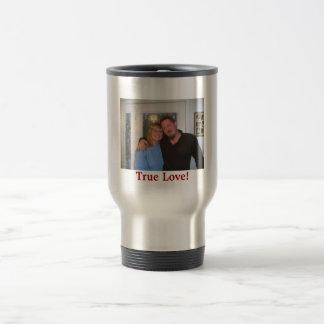 mom and chris, True Love! Travel Mug