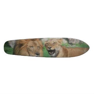 Mom and Dad Lion Skate Decks