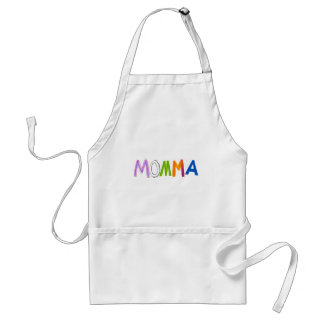 Mom art momma mommy mother fun colorful standard apron