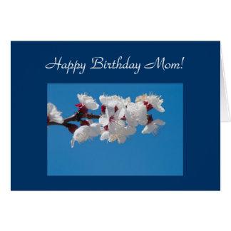 Mom Birthday Cherry Blossom Template Card