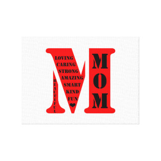 Mom Gallery Wrapped Canvas