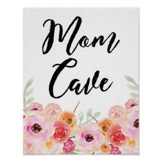 Mom Cave Wall Art