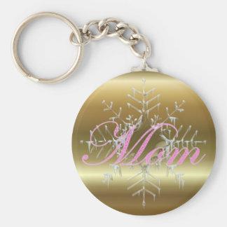 Mom Christmas Keychain