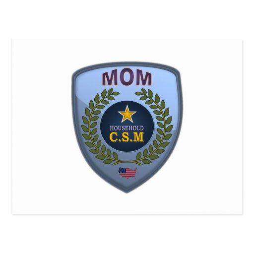 MOM CSM POSTCARD