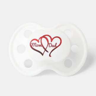 Mom Dad, 0-6 months BooginHead® Pacifier