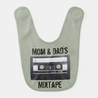 Mom & Dad's MixTape Bib