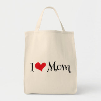 Mom Grocery Tote Bag