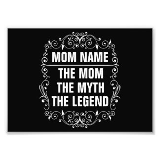 Mom Happy Mother's Day Photo Print