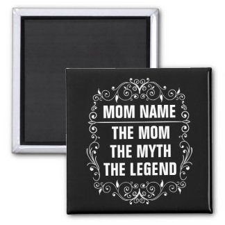 Mom Happy Mother's Day Square Magnet