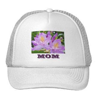 Mom hats sports trucker's hats Purple Rhodies