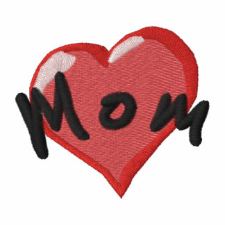 Mom Heart Embroider