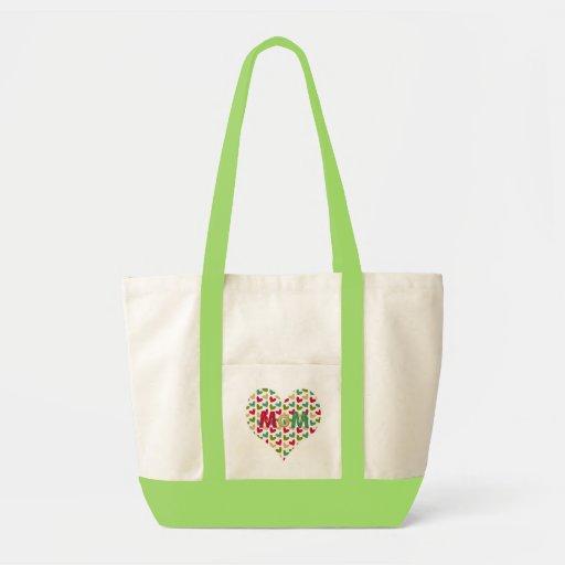 """MoM"" Heart Impulse Tote Bag"
