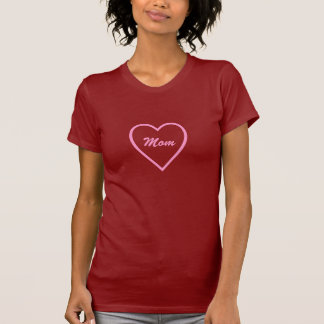 Mom Heart T Shirt