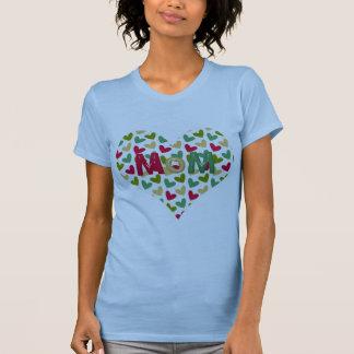 """MoM"" Heart Women's Hanes ComfortSoft T-Shirt"